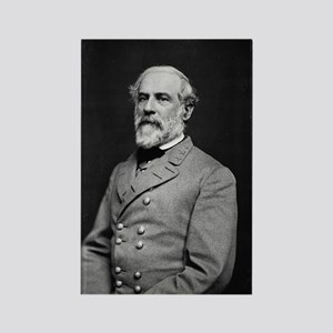 Robert E Lee (2) Rectangle Magnet