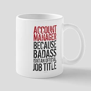 Account Manager Badass Mugs