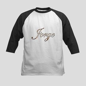 Gold Jorge Baseball Jersey
