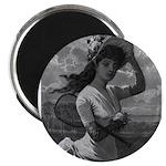 tennis in art Magnets