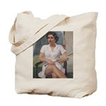 tennis in art Tote Bag