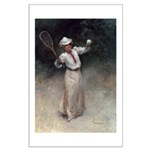 tennis in art Posters
