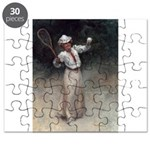 tennis in art Puzzle