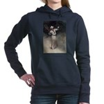 tennis in art Women's Hooded Sweatshirt