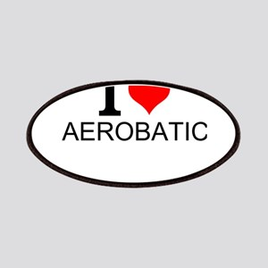 I Love Aerobatics Patch