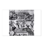 tennis in art Postcards (Package of 8)