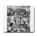 tennis in art Mousepad