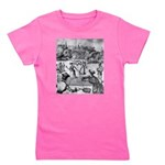 tennis in art Girl's Tee