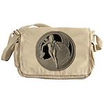 tennis in art Messenger Bag