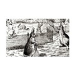 tennis in art Wall Decal