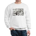 tennis in art Sweatshirt