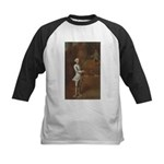 tennis in art Baseball Jersey