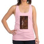 tennis in art Racerback Tank Top