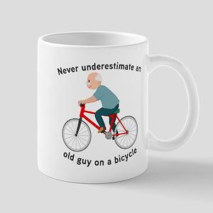 Never Underestimate An Old Guy O 11 oz Ceramic Mug