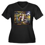 tennis in art Plus Size T-Shirt