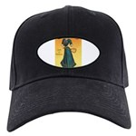 tennis in art Baseball Hat