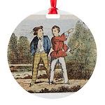 tennis in art Ornament