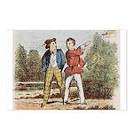 tennis in art Postcards (Package of 8)