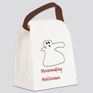 Neverending Halloween Canvas Lunch Bag