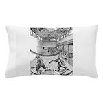 tennis in art Pillow Case
