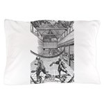 tennis in art Pillow Case