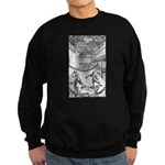 tennis in art Sweatshirt