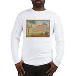 tennis in art Long Sleeve T-Shirt