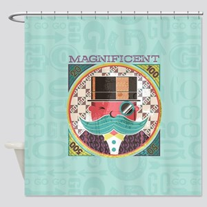 Monopoly Magnificent Shower Curtain