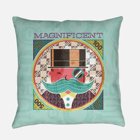 Monopoly Magnificent Everyday Pillow