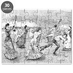 tennis in art Puzzle
