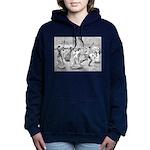 tennis in art Women's Hooded Sweatshirt