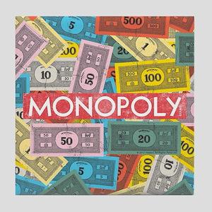 Monopoly Vintage logo Tile Coaster