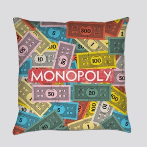 Monopoly Vintage logo Everyday Pillow
