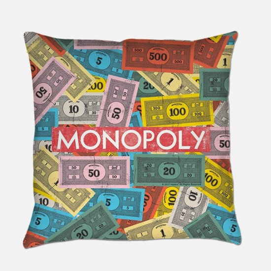 Monopoly Vintage logo Everyday Pillow