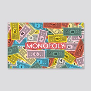 Monopoly Vintage logo 20x12 Wall Decal