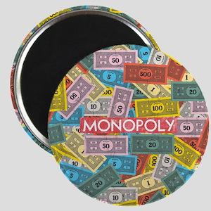 Monopoly Vintage logo Magnet
