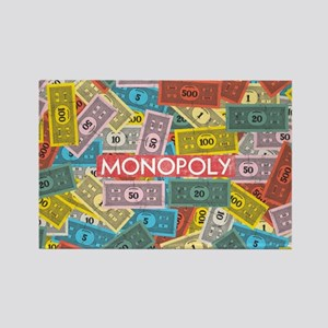 Monopoly Vintage logo Rectangle Magnet