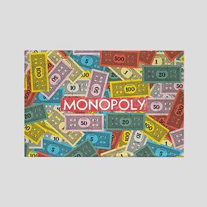 Monopoly Vintage logo Rectangle Magnet