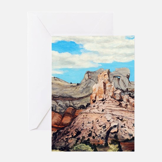 Peek-a-boo Arch at Capitol Reef Nat Greeting Cards