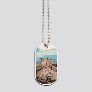 Peek-a-boo Arch at Capitol Reef National Dog Tags