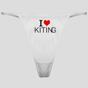 I Love Kiting Classic Thong