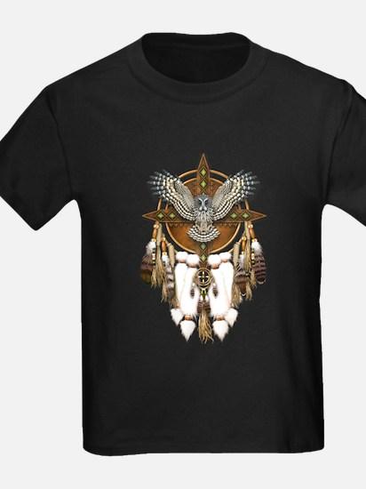 Great Grey Owl Mandala T