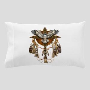 Great Grey Owl Mandala Pillow Case
