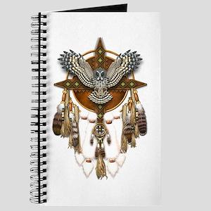 Great Grey Owl Mandala Journal