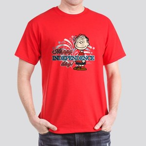 Linus - Happy Independence Day Dark T-Shirt