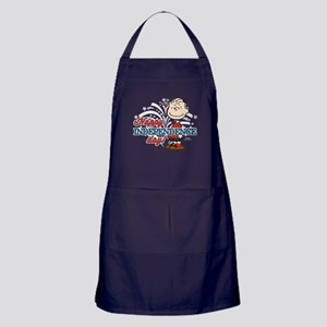 Linus - Happy Independence Day Apron (dark)