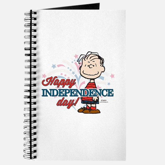 Linus - Happy Independence Day Journal