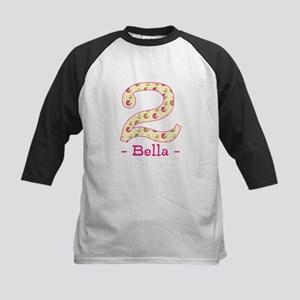 Customized Birdies 2nd Birthd Kids Baseball Jersey