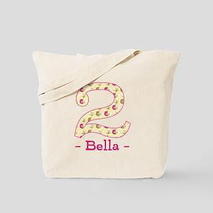 Customized Birdies 2nd Birthday Tote Bag