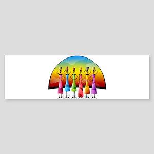 African Women Bumper Sticker